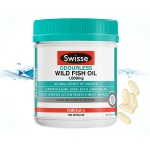 【NZ直邮】Swisse无腥味野生鱼油1000mg