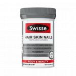 【特价】Swisse Hair Nails Skin胶原蛋白片60粒(新西兰版)(保质期到20年5月)