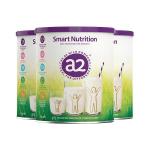 【澳洲直邮】a2 Smart Nutrition 4-12岁儿童学生成长营养奶粉 750g 3罐包邮(下单请把收件人身份证打在收件人名字隔壁,下单奶粉请务必提供收件人身份证号码 否则无法发货)