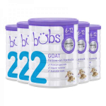 【NZ直邮】贝儿BUBS婴儿羊奶粉2段原装原罐婴幼儿宝宝配方奶粉二段6罐(下单请务必把收件人身份证备注在名字后面,否则不发货)