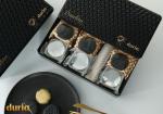 【中国现货】猫山王黑金水晶冰皮月饼(60g*6粒/盒,黑金冰皮和水晶冰皮各3个)